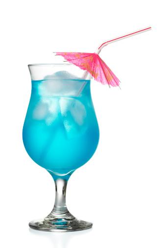 Cocktail「Blue Hawaiian Coctail」:スマホ壁紙(1)