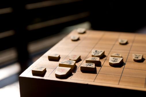 Tradition「Koma pieces on shogi board」:スマホ壁紙(18)
