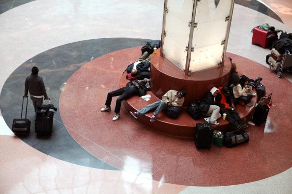 Hartsfield-Jackson Atlanta International Airport「U.S. South Hit By Crippling Winter Storm」:写真・画像(12)[壁紙.com]