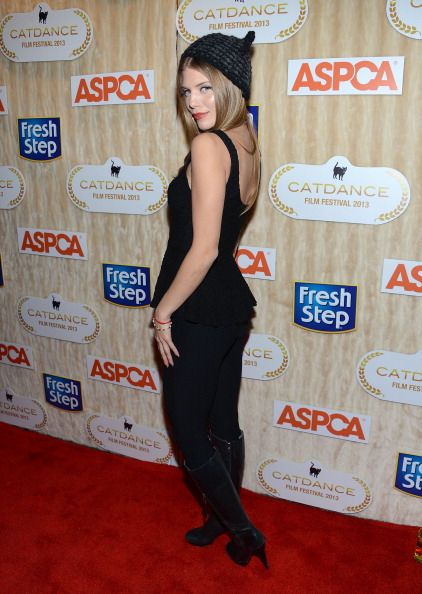 Leather Boot「Actress Annalynne McCord Hosts Catdance Film Festival - Park City 2013」:写真・画像(2)[壁紙.com]