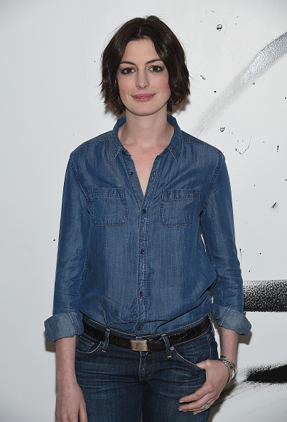 Double Denim「AOL Build Speaker Series: Anne Hathaway」:写真・画像(17)[壁紙.com]