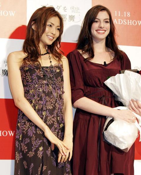 押切 もえ「'Devil Wears Prada' Press Conference With Anne Hathaway」:写真・画像(13)[壁紙.com]