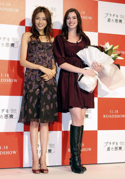 押切 もえ「'Devil Wears Prada' Press Conference With Anne Hathaway」:写真・画像(11)[壁紙.com]
