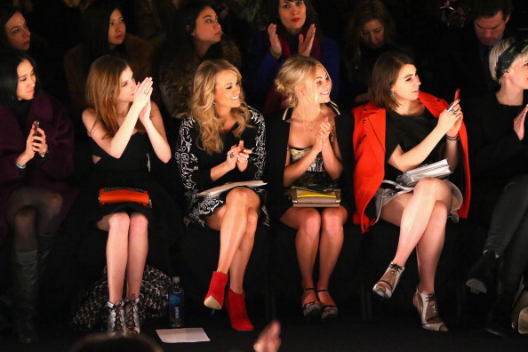 AnnaSophia Robb「TRESemme at Rebecca Minkoff - Front Row - Mercedes-Benz Fashion Week Fall 2014」:写真・画像(16)[壁紙.com]