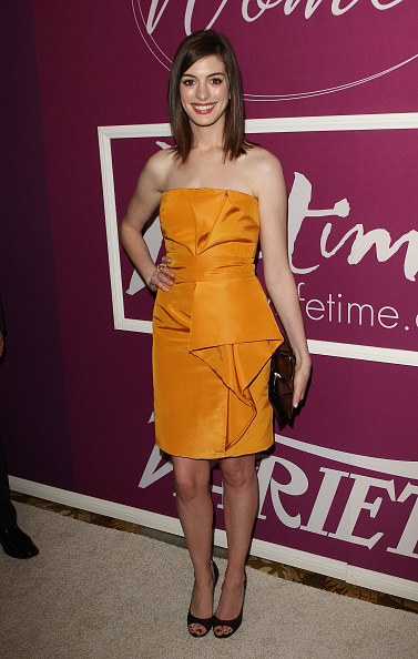 Orange Dress「Variety's 1st Annual Power of Women Luncheon - Arrivals」:写真・画像(10)[壁紙.com]