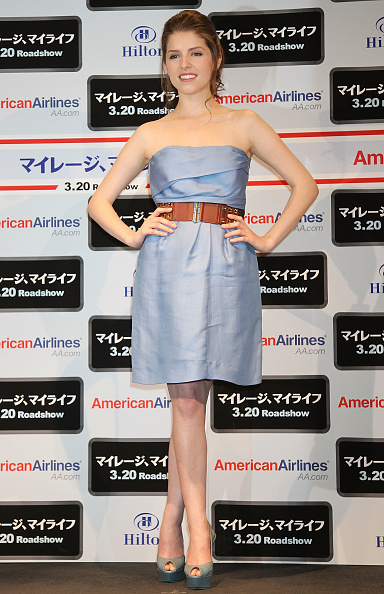 """Scalloped - Pattern「Anna Kendrick Promotes """"Up In The Air""""」:写真・画像(2)[壁紙.com]"""