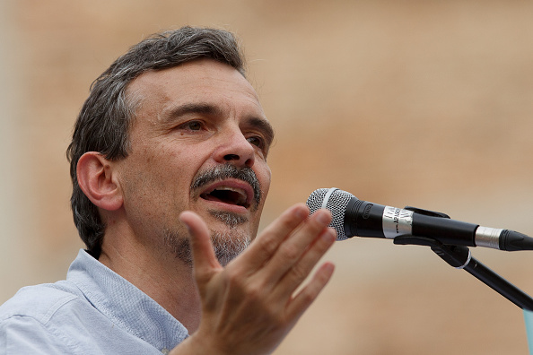 Jose Lopez「Pablo Iglesias Of Podemos Political Party Attends An Election Rally In Madrid」:写真・画像(17)[壁紙.com]