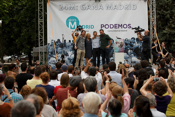 Jose Lopez「Pablo Iglesias Of Podemos Political Party Attends An Election Rally In Madrid」:写真・画像(16)[壁紙.com]