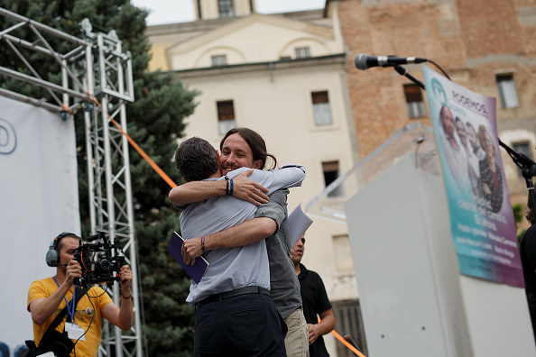 Jose Lopez「Pablo Iglesias Of Podemos Political Party Attends An Election Rally In Madrid」:写真・画像(10)[壁紙.com]