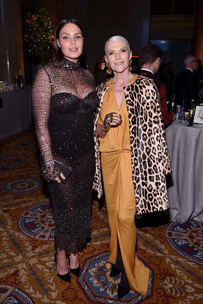Yellow Dress「Moet & Chandon Toasts To The amfAR New York Gala At Cipriani Wall Street」:写真・画像(17)[壁紙.com]