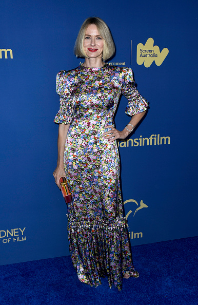 Floral Pattern Dress「2019 Australians In Film Awards - Arrivals」:写真・画像(6)[壁紙.com]