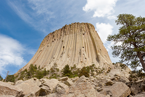 Basalt「Devil's Tower National Monument, 5112 ft.」:スマホ壁紙(18)