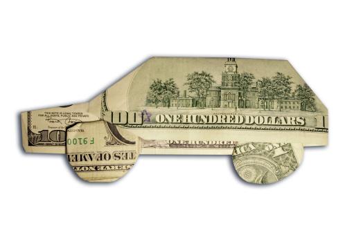American One Hundred Dollar Bill「car made of us dollars」:スマホ壁紙(8)