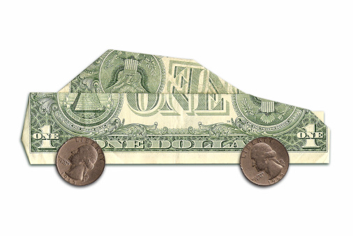 Currency「car made of us dollars」:スマホ壁紙(5)