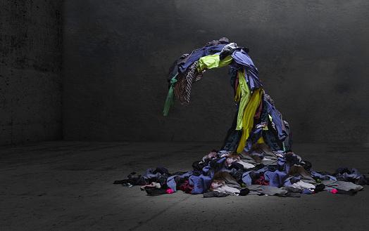 Laundry「Overwhelming household chores」:スマホ壁紙(18)