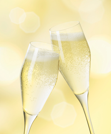 Celebratory Toast「Champagne glasses, close up」:スマホ壁紙(3)