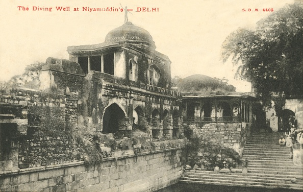 Delhi「The Diving Well At Niyamudddins - Delhi  Creator: Unknown」:写真・画像(7)[壁紙.com]