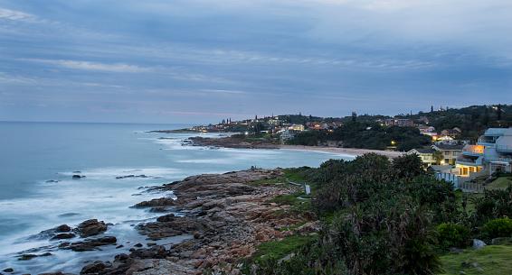 Wave「Ramsgate Beach in the evening, Ramsgate, KwaZulu-Natal, South Africa.」:スマホ壁紙(12)