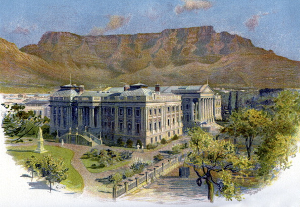 City Life「Parliament House and Table Mountain, Cape Town」:写真・画像(0)[壁紙.com]