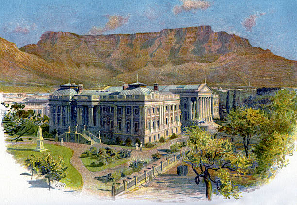 Parliament House and Table Mountain, Cape Town:ニュース(壁紙.com)