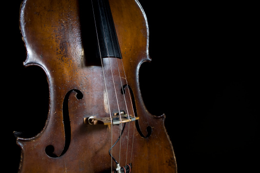 Cello「Old Upright Bass」:スマホ壁紙(15)