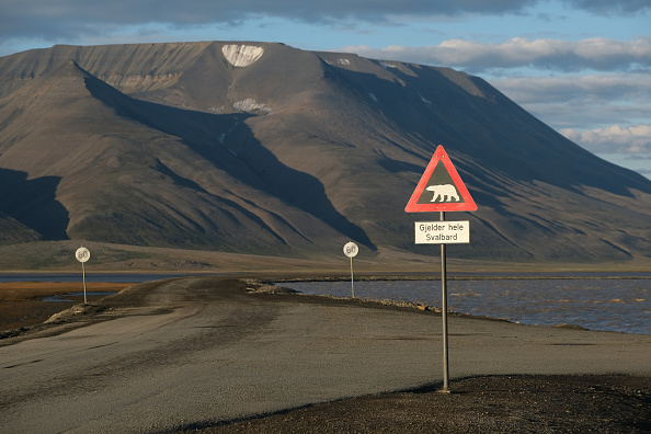 Mountain「Summer Heat Wave Hits Svalbard Archipelago, Far North Of The Arctic Circle」:写真・画像(11)[壁紙.com]