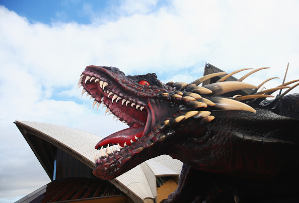 Dragon「Game Of Thrones Season Five Photo Call」:写真・画像(1)[壁紙.com]