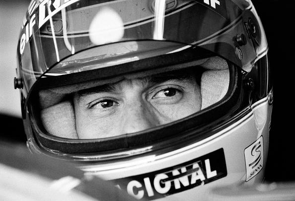 スポーツヘルメット「Ayrton Senna's Last Race」:写真・画像(3)[壁紙.com]