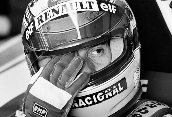 スポーツヘルメット「Ayrton Senna's Last Race」:写真・画像(6)[壁紙.com]