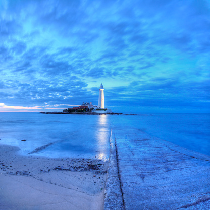 Northumberland「St Mary's Lighthouse, Whitley Bay」:スマホ壁紙(18)
