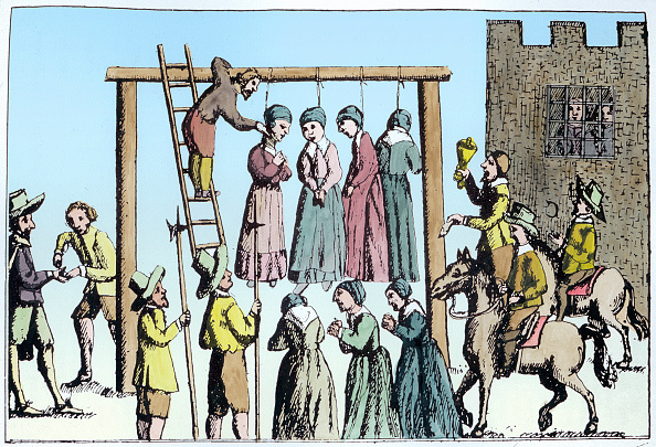 Hanging「An Execution Of Witches In England 17th Century」:写真・画像(0)[壁紙.com]