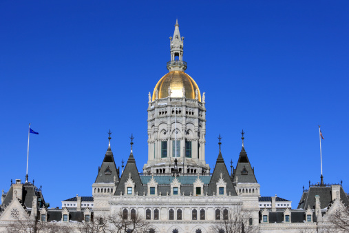 Gothic Style「Connecticut State Capitol」:スマホ壁紙(1)