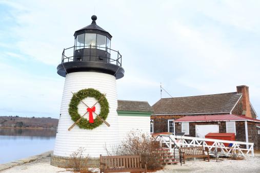 Christmas Decoration「Connecticut: Mystic Seaport」:スマホ壁紙(11)