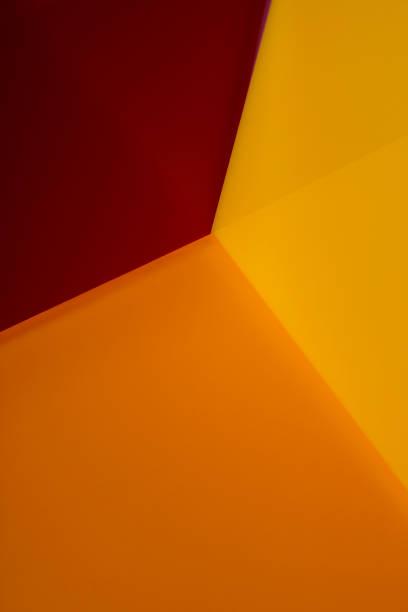 orange colored abstract corner:スマホ壁紙(壁紙.com)