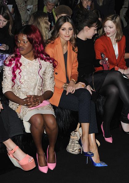 Manolo Blahnik - Designer Label「Mulberry: Front Row - LFW Autumn/Winter 2012」:写真・画像(0)[壁紙.com]
