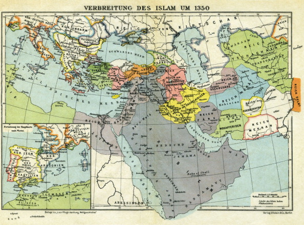 Circa 14th Century「The spread of Islam, c. 1350 -」:写真・画像(3)[壁紙.com]
