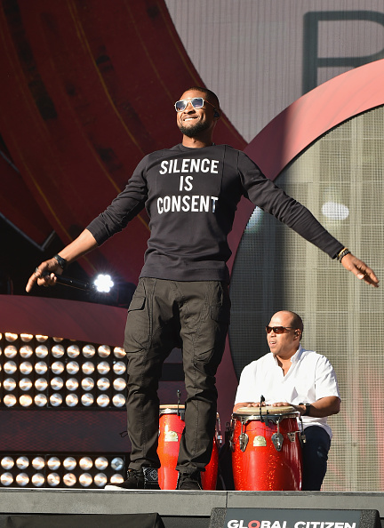 Usher - Singer「2016 Global Citizen Festival In Central Park To End Extreme Poverty By 2030 - Show」:写真・画像(11)[壁紙.com]
