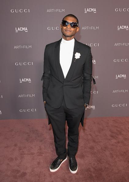 Usher - Singer「2017 LACMA Art + Film Gala Honoring Mark Bradford And George Lucas Presented By Gucci - Red Carpet」:写真・画像(15)[壁紙.com]