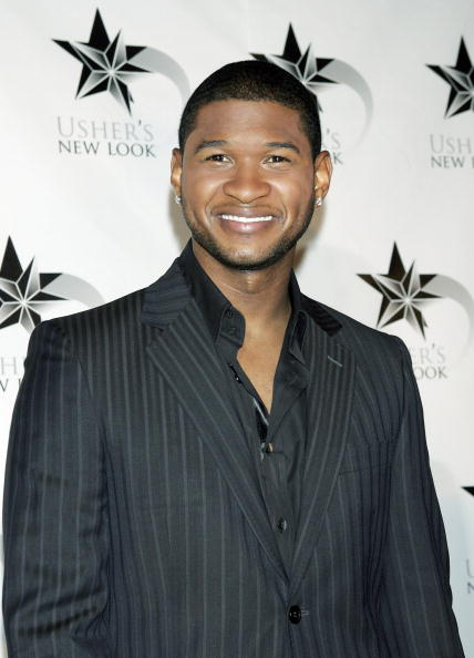 """Pinstripe「Press Conference To Launch Usher's """"New Look""""」:写真・画像(5)[壁紙.com]"""