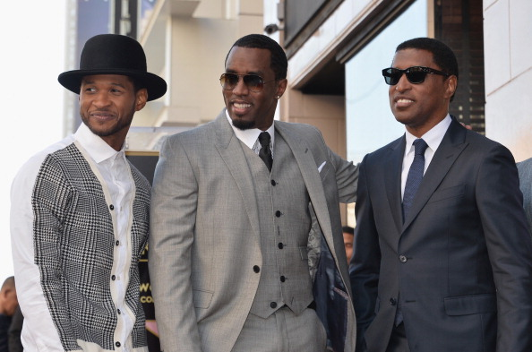 Usher - Singer「Kenny 'Babyface' Edmonds Honored On The Hollywood Walk Of Fame」:写真・画像(8)[壁紙.com]