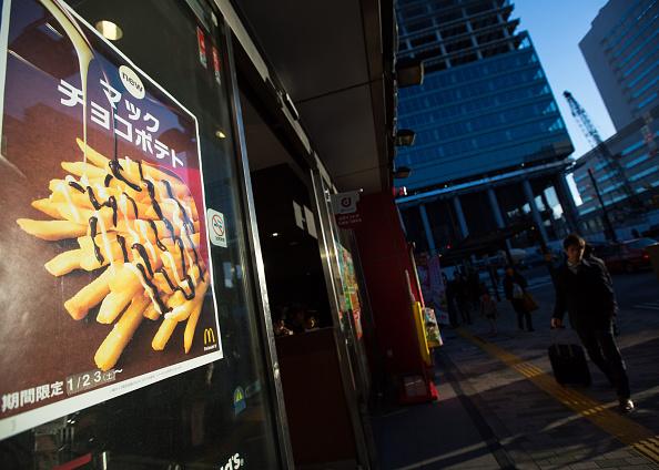 Sweet Food「McDonald's Japan To Offer Chocolate Topped 'McChoco Potato'」:写真・画像(14)[壁紙.com]
