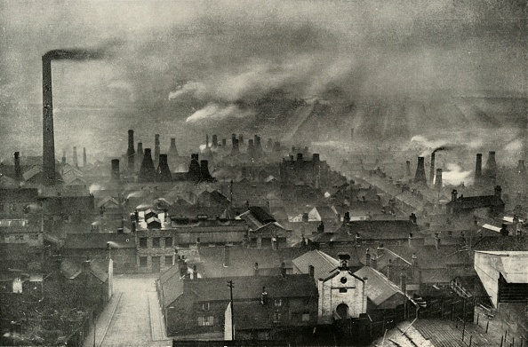 19th Century「A Factoryscape In The Potteries」:写真・画像(3)[壁紙.com]