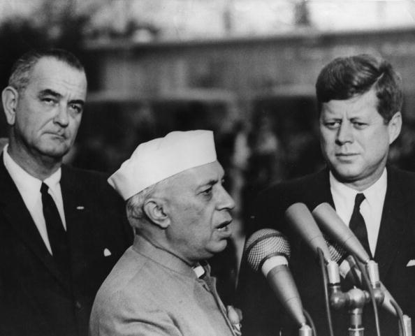 John F「Nehru and Kennedy」:写真・画像(6)[壁紙.com]