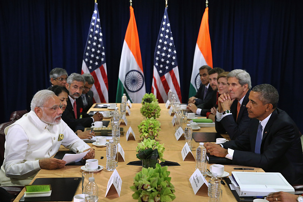 United Nations Building「President Obama Holds Bilateral Meeting With Indian PM Modi At UN」:写真・画像(19)[壁紙.com]