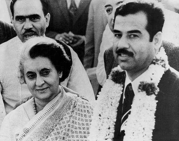 Delhi「Indira Gandhi And Saddam Hussein」:写真・画像(10)[壁紙.com]