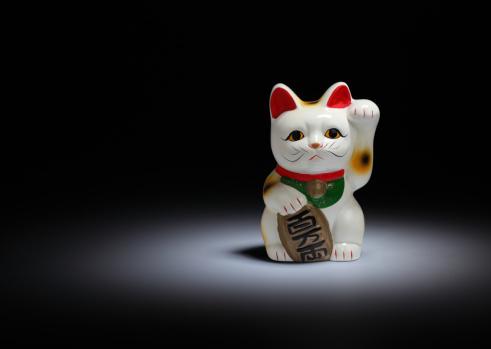 Maneki Neko「Maneki-neko cat」:スマホ壁紙(17)