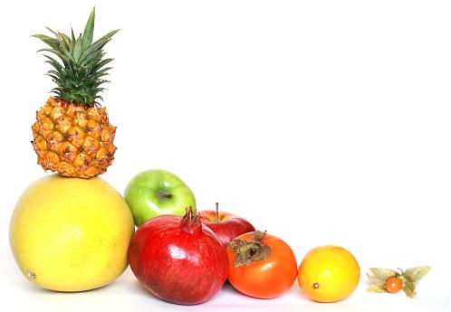 柿の木「フルーツのコーナー」:スマホ壁紙(10)