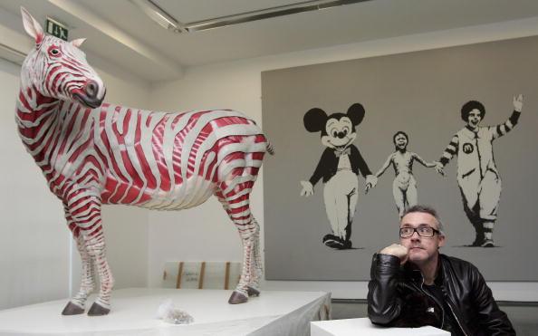 Fine Art Painting「Damien Hirst Unveils His Comtemporary Art Collection」:写真・画像(5)[壁紙.com]