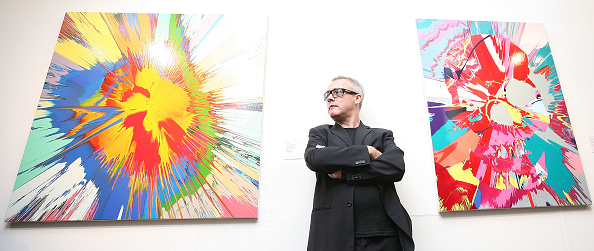 Painting - Activity「Sotheby's To Auction Damien Hirst's New Works」:写真・画像(10)[壁紙.com]