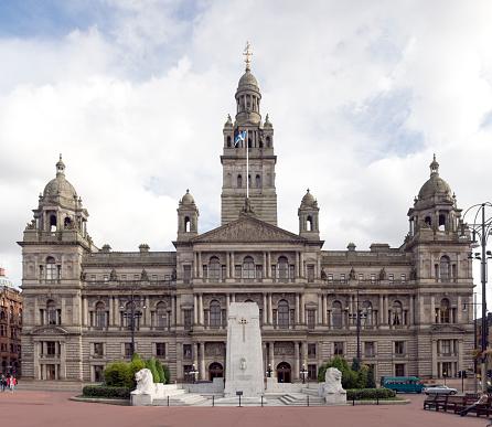 Glasgow - Scotland「Large City Chambers building in Glasgow, Scotland」:スマホ壁紙(19)